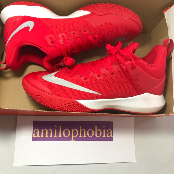 a063c5007848 New Men s Nike Zoom Shift TB Red White Size 12